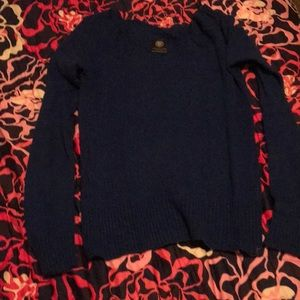 American Eagle royal blue scoop neck sweater